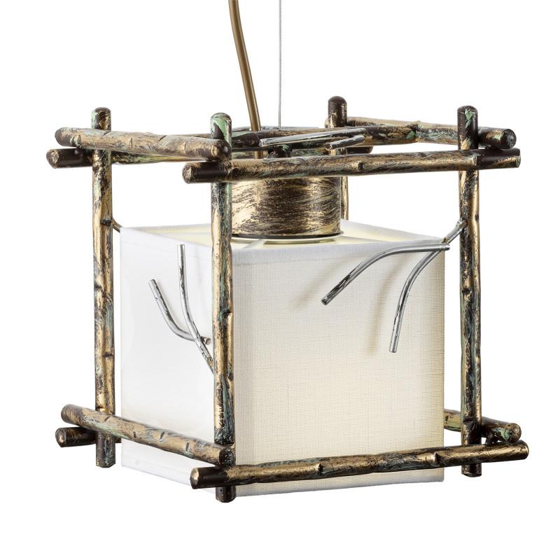 """Designový závěsný lustr na lanku 16701 """"SAVANNA CUBO"""" foto2"""