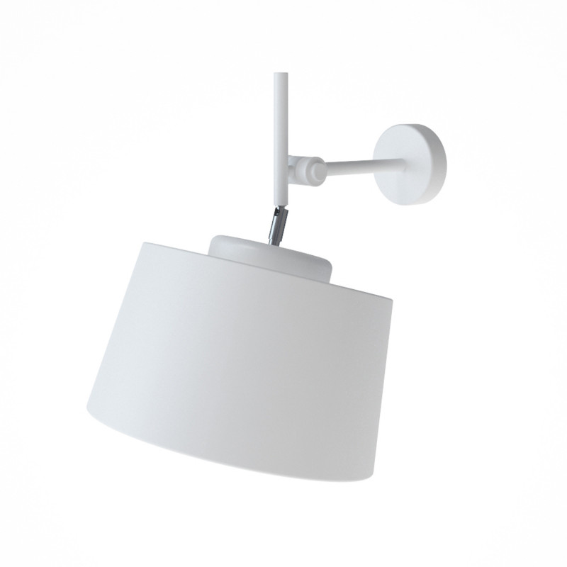 """Designové nástěnné světlo s bílým stínidlem 60401 """"Lefor"""""""