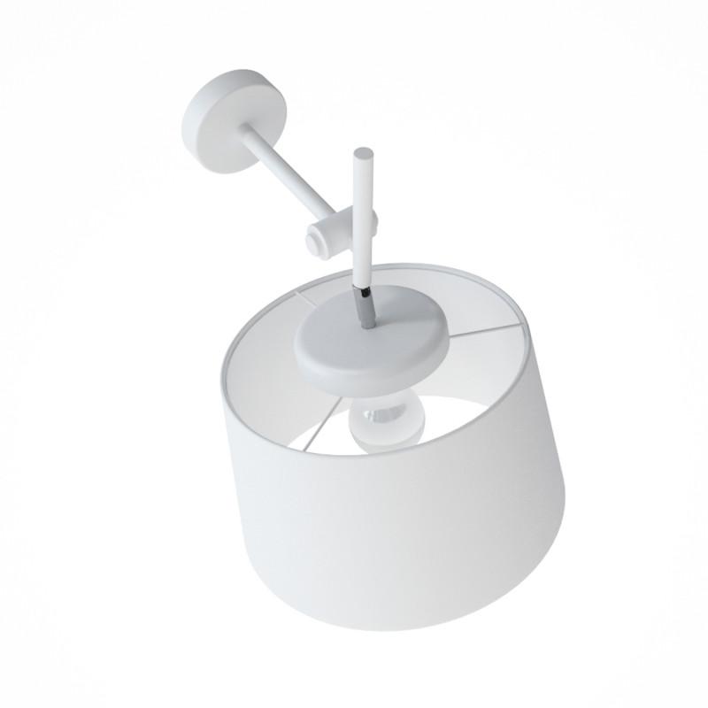 """Designové nástěnné světlo s bílým stínidlem 60401 """"Lefor"""" foto3"""